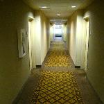  Third-floor hallway