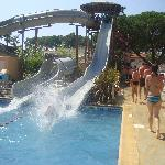  Slides at the Swimming Pool