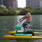 Austin Water Bikes, Lady Bird Johnson/Town Lake