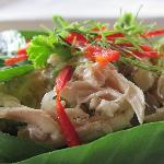 Rice Salad with Pomelo
