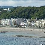  View of hotel from Onchan,
