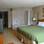  King Jacuzzi Suite.  Romance &amp; Massage Packages!