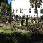 Overview of a small part of the cemetery