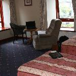  Our room in the Priory Hotel