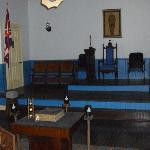 Fanshaw inside of Masonic Lodge