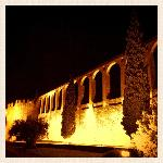 Serpa Castel by night