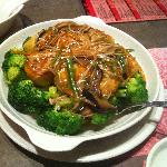 M9 - Bean Curd with dried scallop and mushroom - $11.25