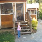  Granddaughter likes &#39;her&#39; cabin