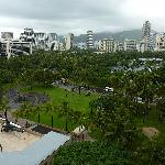 View from Condo 1208, back to Honolulu.