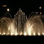 The fountain at full bore
