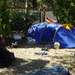 Our tent at Village Camping Joker