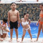 poolside of travelers hotel subic bay