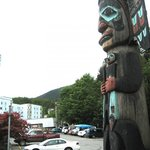 Chief Johnson Totem Pole