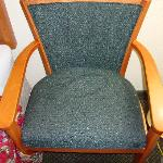  Chair with stain