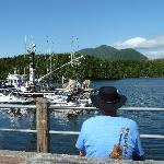 Relaxing in Ucluelet