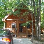 Front view of cabin