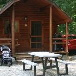 Cabins at Cascade Locks