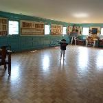 Colonial dances are held every Tuesday night in this ballroom.