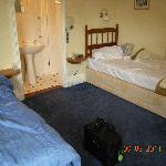  Room one spacious twin with ensuite