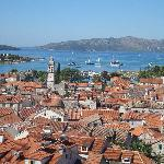 Trogir, looking towards Seget