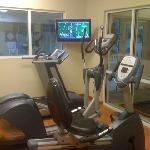 After that breakfast- Work it off in the fitness room