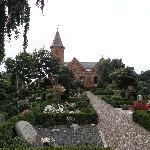 The beautiful cemetery in Strurer Denmark