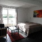 Our beautiful room in Ribe (Bjerrumgaard B&B)