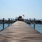 hotels private jetty