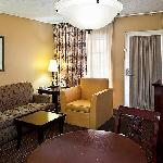 Our suites offer sleeper sofa, microwave and mini fridge