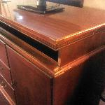 tv stand needs refinishing