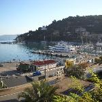  View from the room on Porto Santo Stefano- Hotel Alfiero