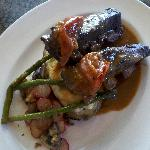 Braised bison short ribs