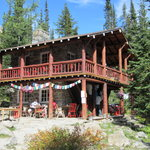 Plain of Six Glaciers Tea House