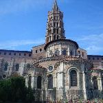 St Sernin outside view