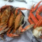 Blue Crab & Snow Crab Legs! DELISH!