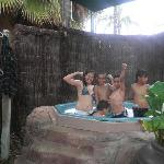 Our Kidz love the spa