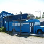 Can't mistake The Blue Bus!