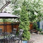 Enjoy our beautiful back gardens!