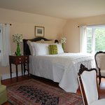 One regal guest bedroom