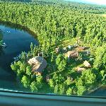  aerial view of Northwoods Lodge
