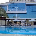 The big swimming pool