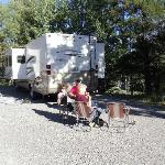 Foto de Tunnel Mountain Trailer Court Campground