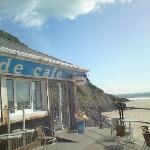 cafe at caswell bay - excellent