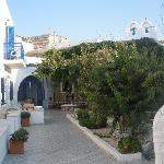 Courtyard at Captain Manolis