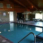 Pool area looking at door to game area hot tub not shown