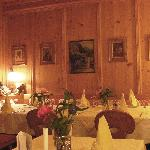 Another dining room at the Hotel Zum Schwarzen Baeren