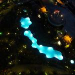 The pool from my balcony.