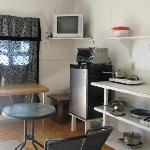 Bachelor suite with kitchenette