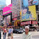 Visiting Time Square