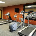 Fitness Center featuring Precor equipment